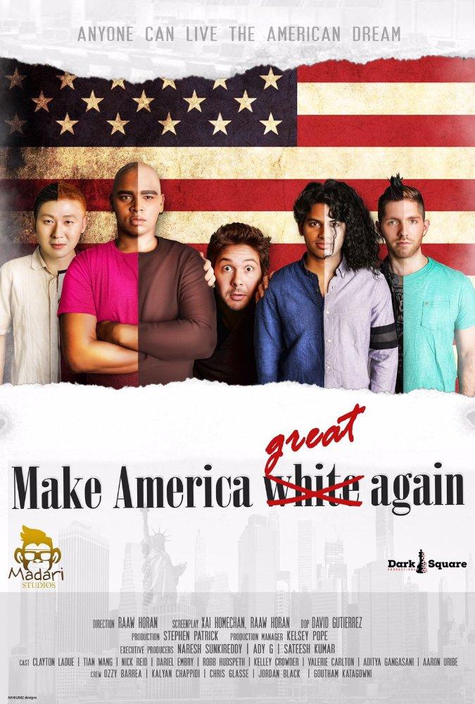 Make America White Again Poster