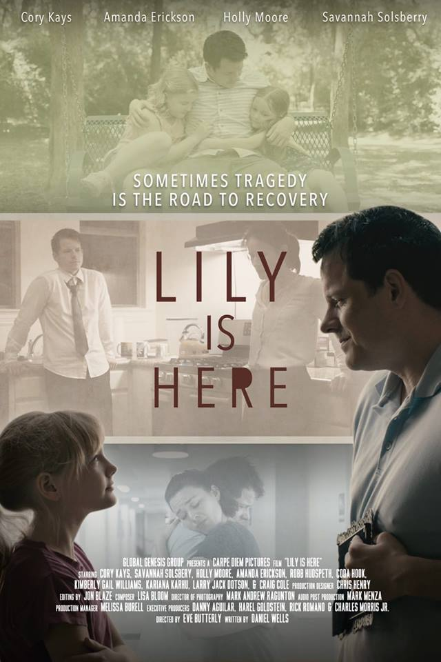 Lily is Here Poster